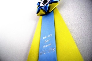 They don't just give these ribbons away! (Can be purchased at your local tack store)
