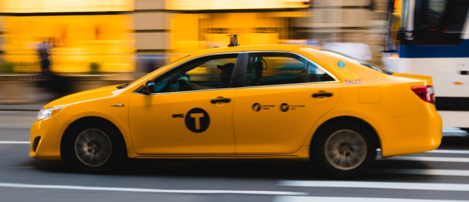 taxi cab new york city